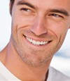 healthy man teeth
