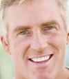 healthy man teeth